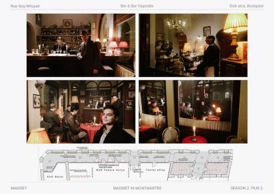 Production design for TV Maigret ITV series