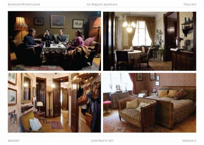 TV production design and set designer