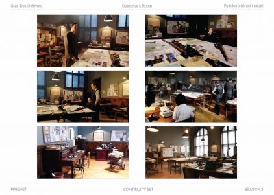 set designer Maigret TV series